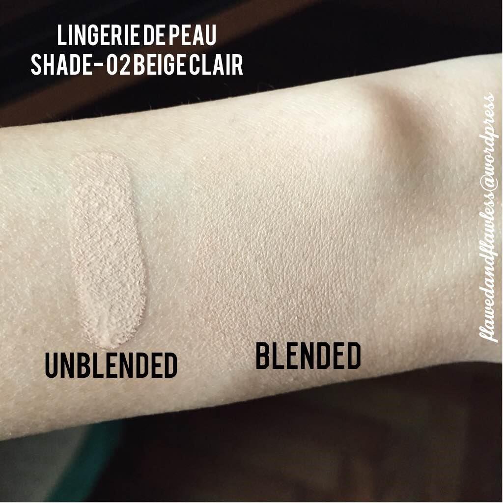 guerlain lingerie de peau review