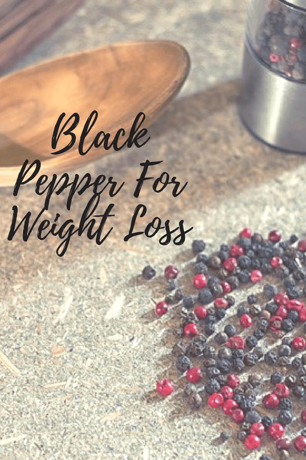 black pepper weight loss reviews