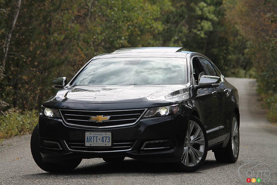 2014 chevy impala ltz review