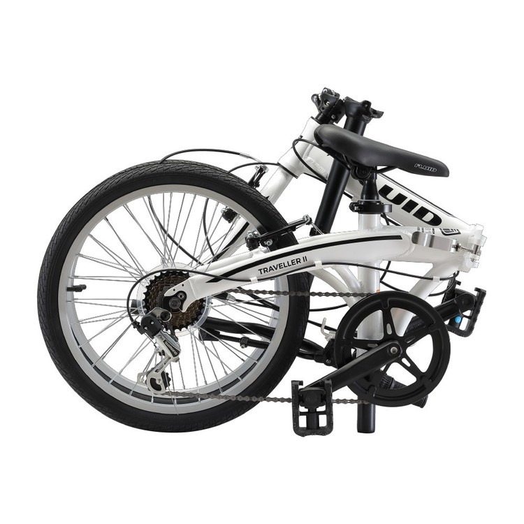 fluid traveller ii folding bike review