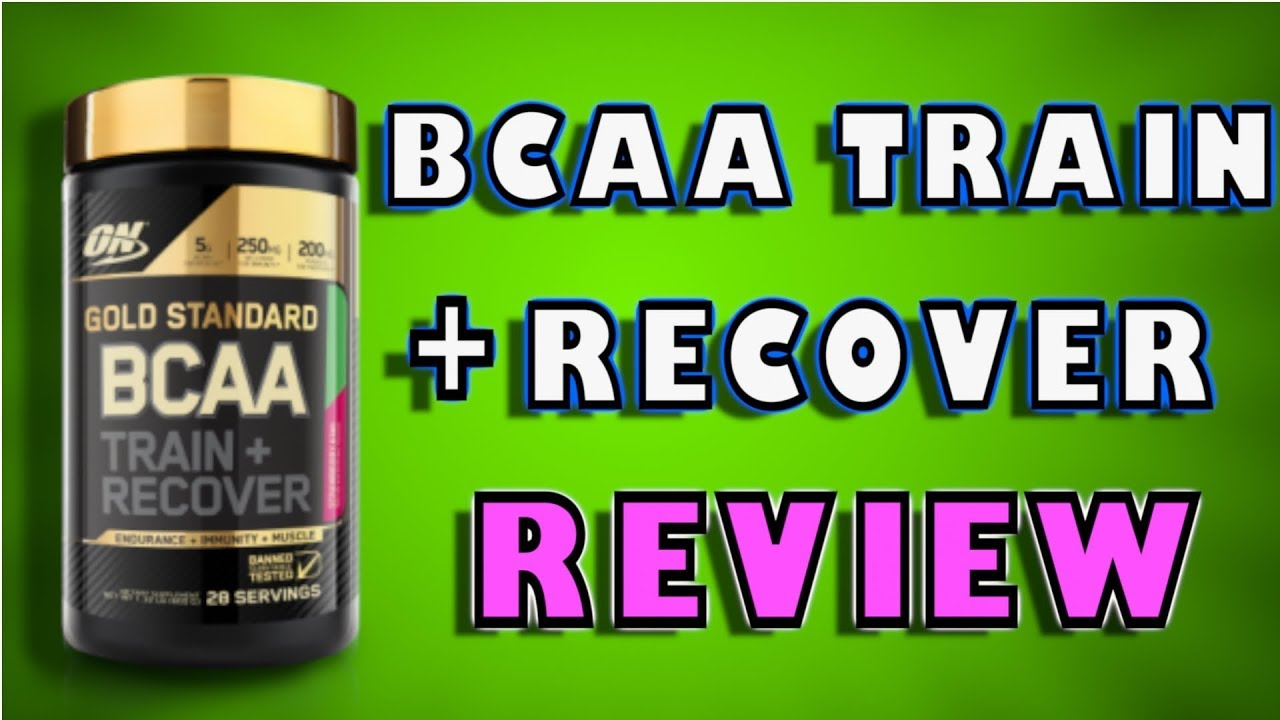 gold standard bcaa train and sustain review