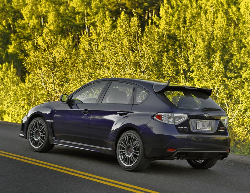 2011 subaru impreza wrx review