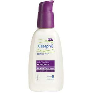 cetaphil dermacontrol moisturizer spf 30 review