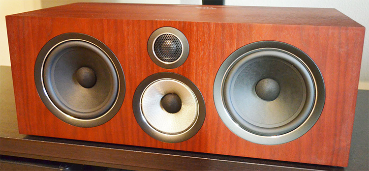 bowers and wilkins center channel speaker reviews