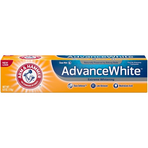 arm and hammer advanced whitening toothpaste review