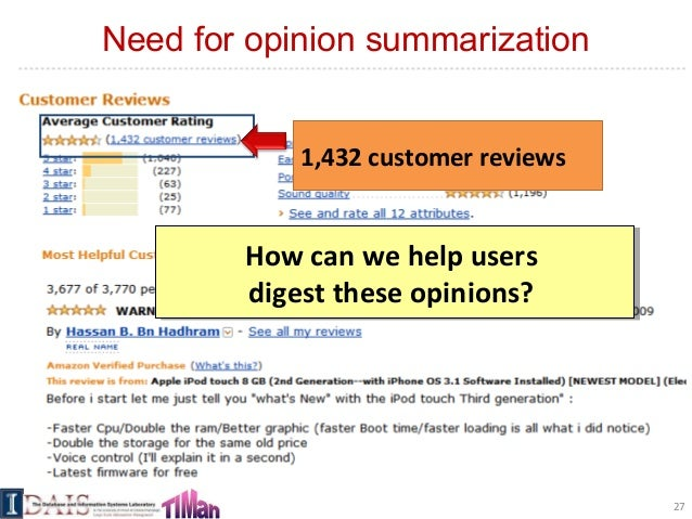 aspect and sentiment unification model for online review analysis