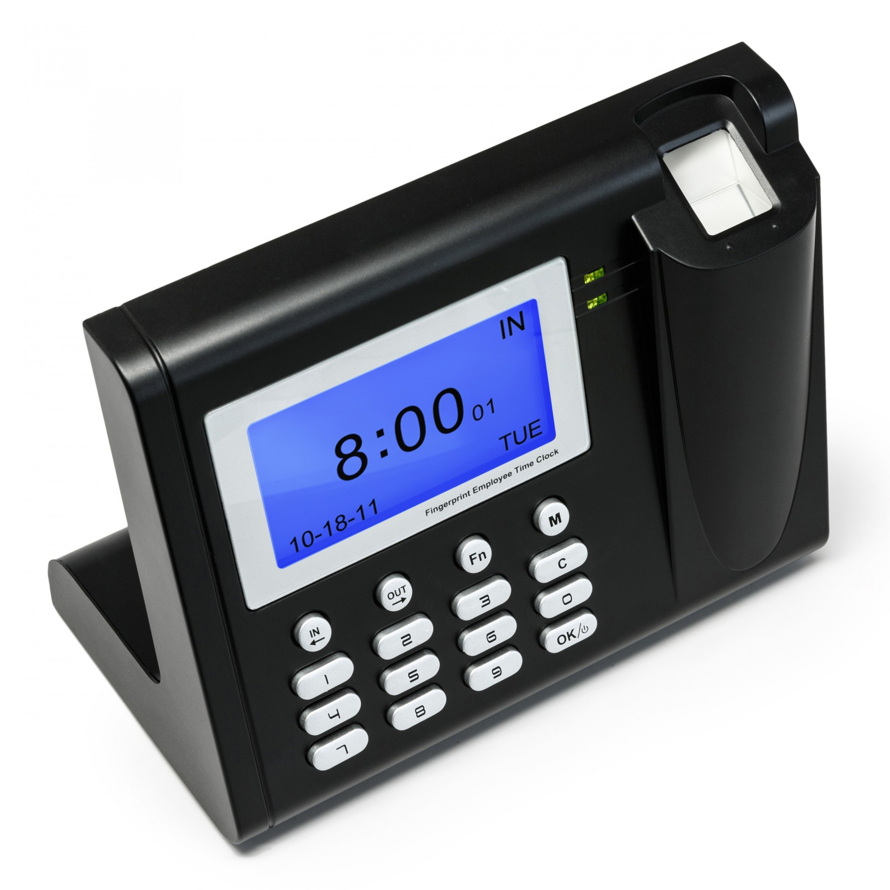 fingerprint clocking in machine reviews