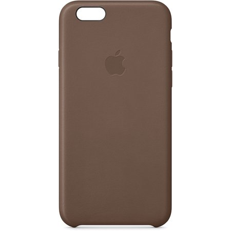 apple leather case iphone 6 review
