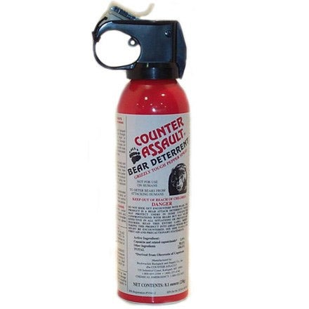 counter assault bear spray review