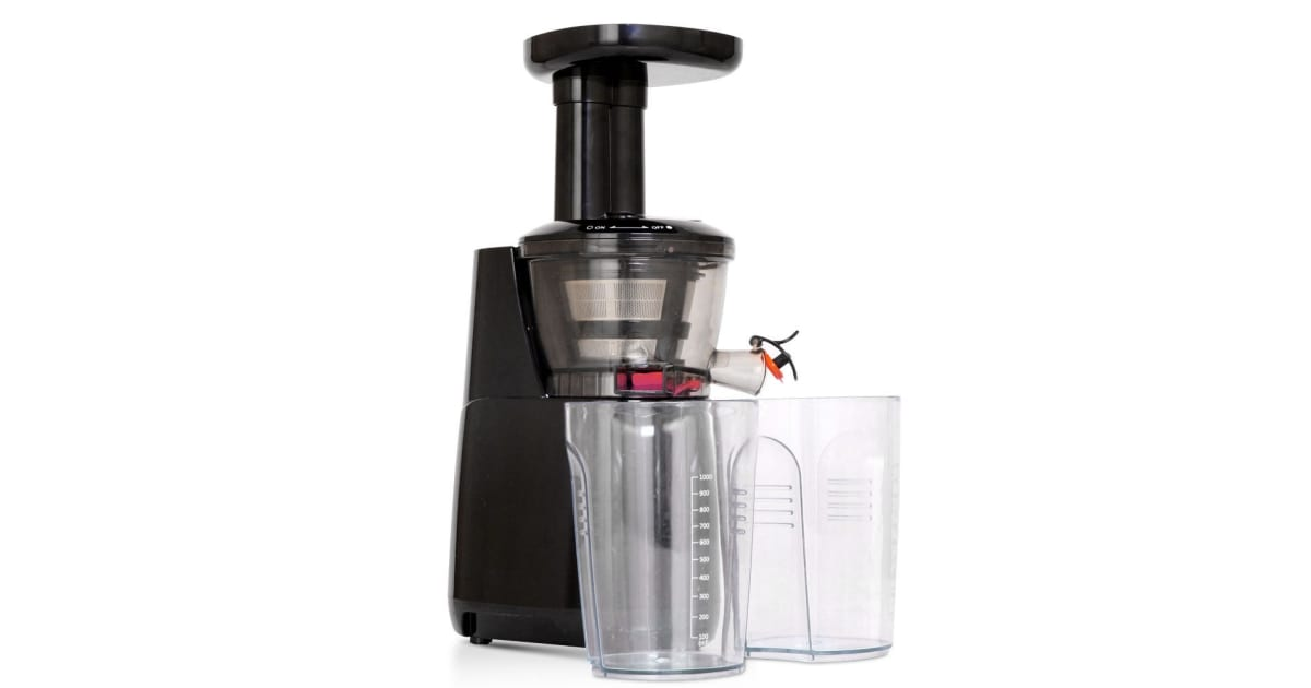 5 star chef cold press slow juicer review