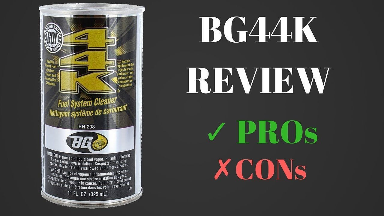 44k fuel system cleaner review