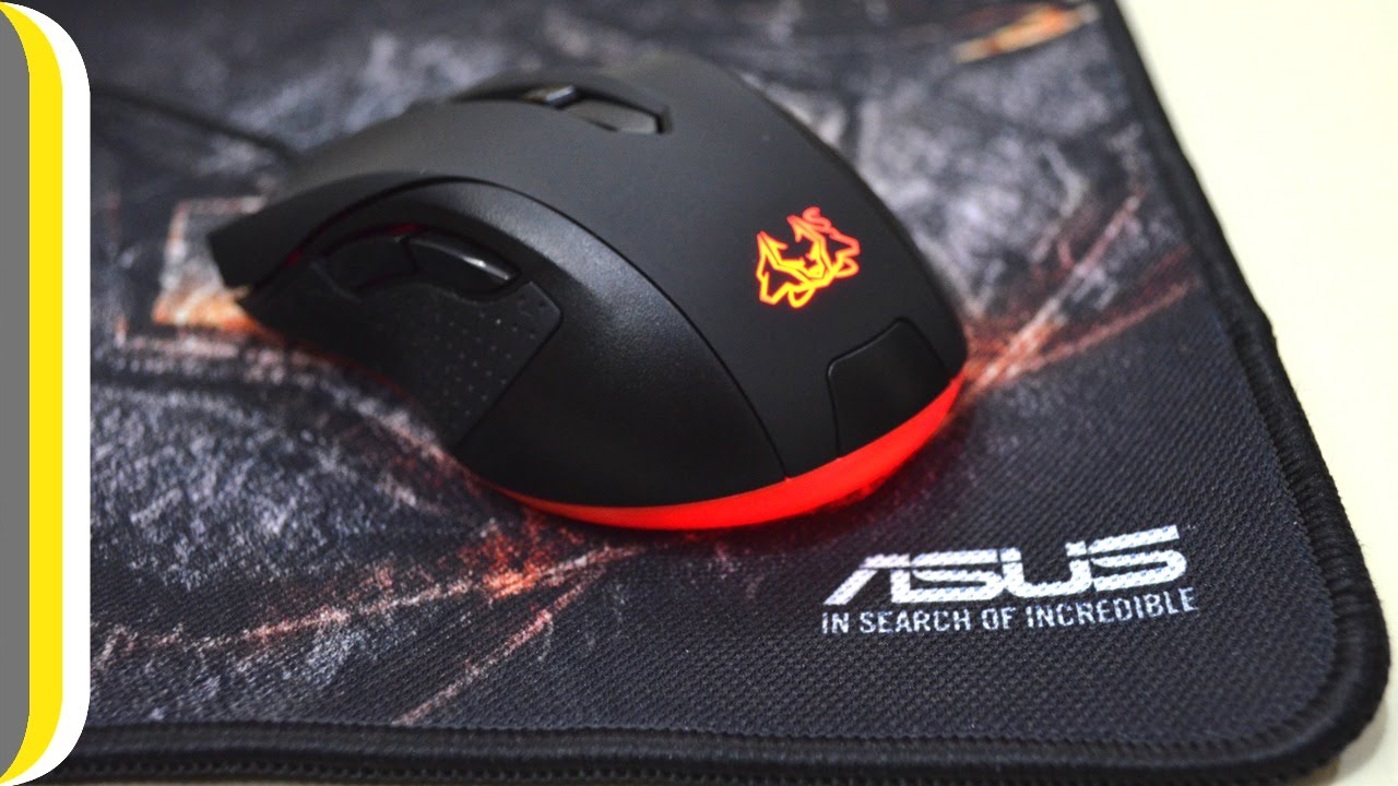 asus cerberus mouse pad review