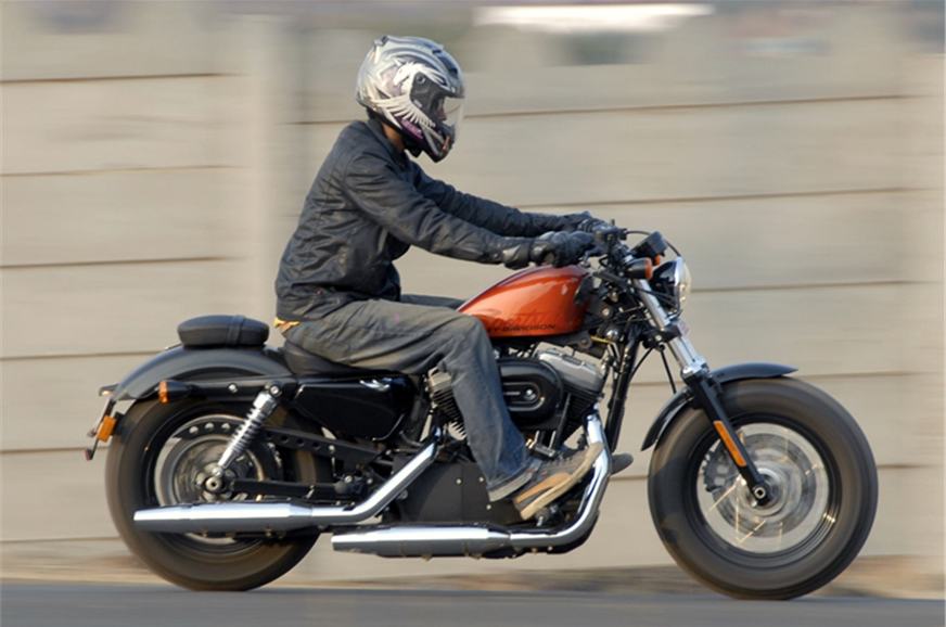 2012 harley davidson forty eight review