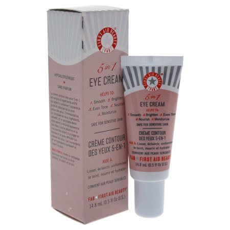 first aid beauty 5 in 1 eye cream review