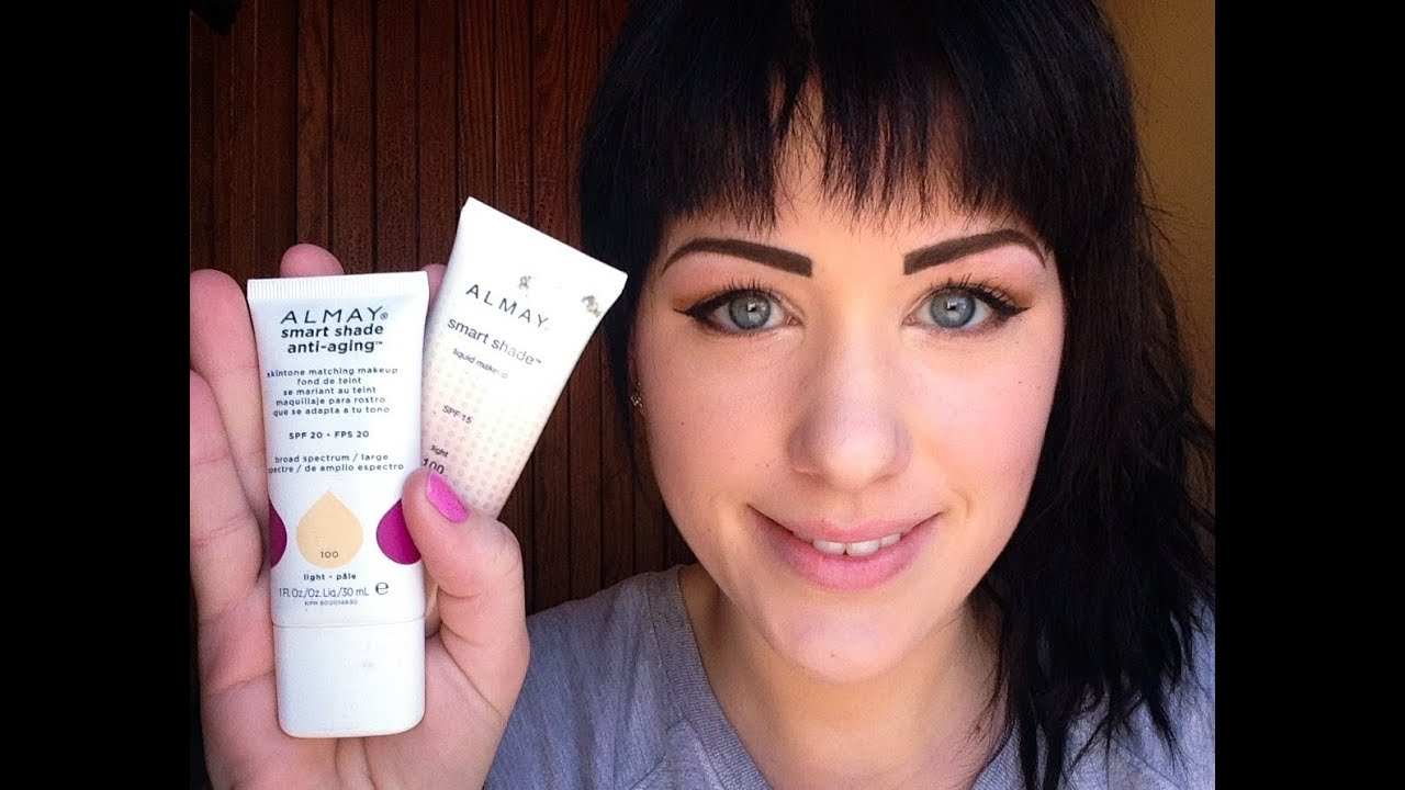 almay smart shade foundation review