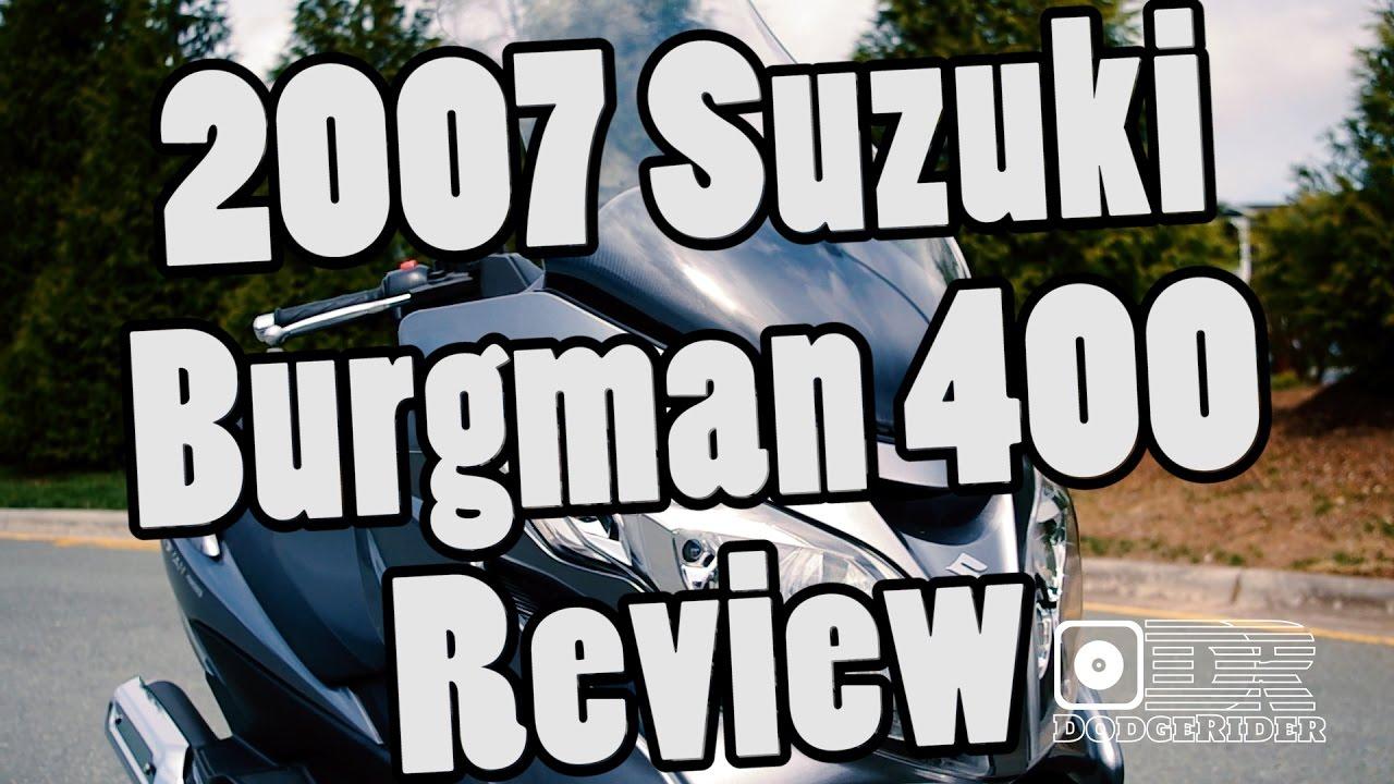 2007 suzuki burgman 650 review