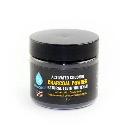 coconut charcoal teeth whitening powder reviews