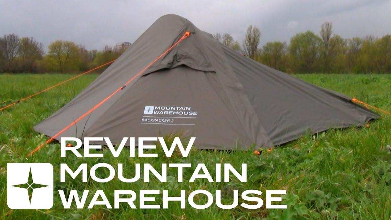 2 man hiking tent reviews