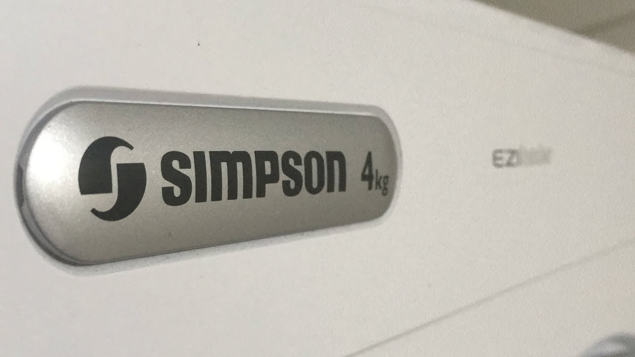 simpson 4kg clothes dryer review