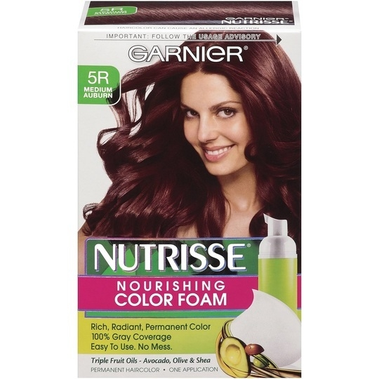 garnier nutrisse semi permanent hair color review