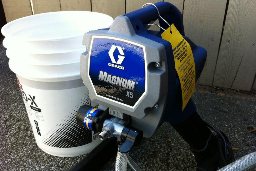 graco magnum x5 airless paint sprayer reviews