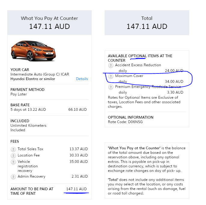 apex car rental melbourne review