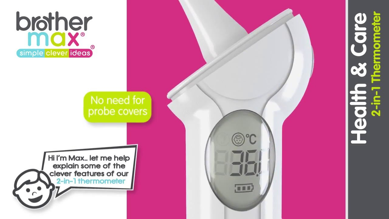 brother max 2 in 1 thermometer review