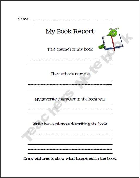 book review for grade 5