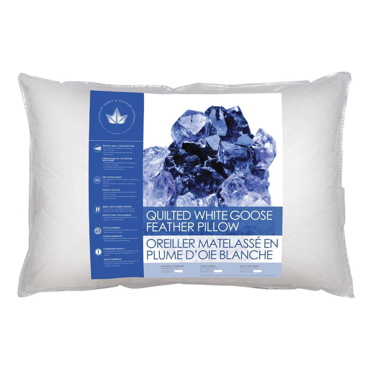 canadian down and feather company pillow review