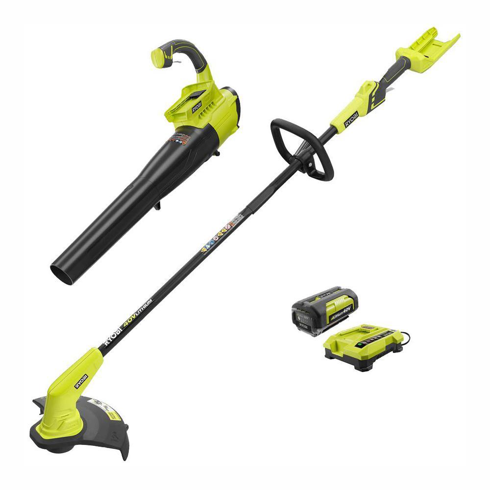 ryobi 36v line trimmer 2.6 ah kit review