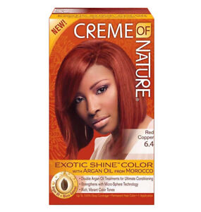 creme of nature red hair dye reviews