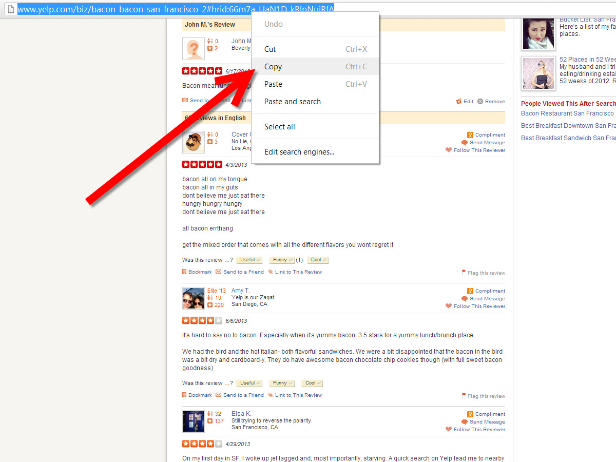 how to send link for google review