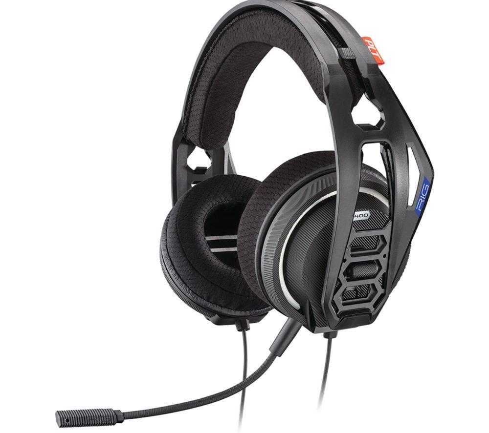 plantronics rig 400hx headset review