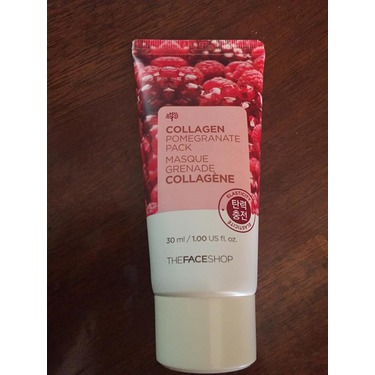 face shop pomegranate mask review