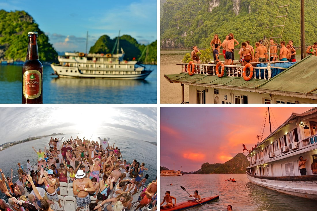 halong bay booze cruise reviews