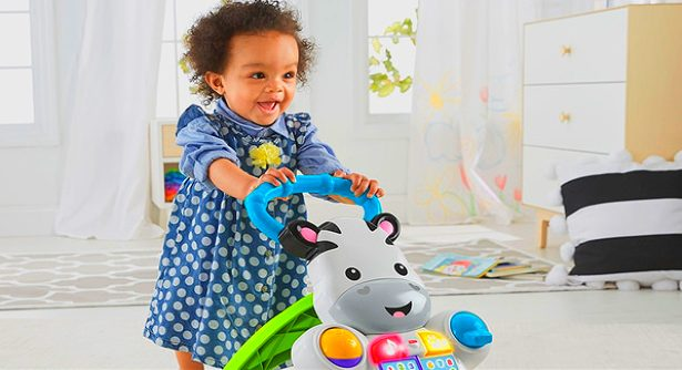 fisher price learn with me zebra walker reviews