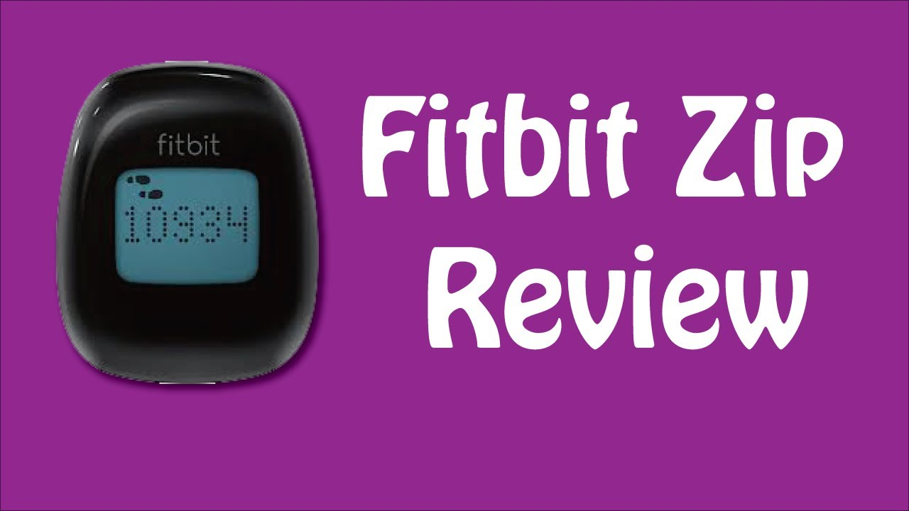 fitbit zip activity tracker review