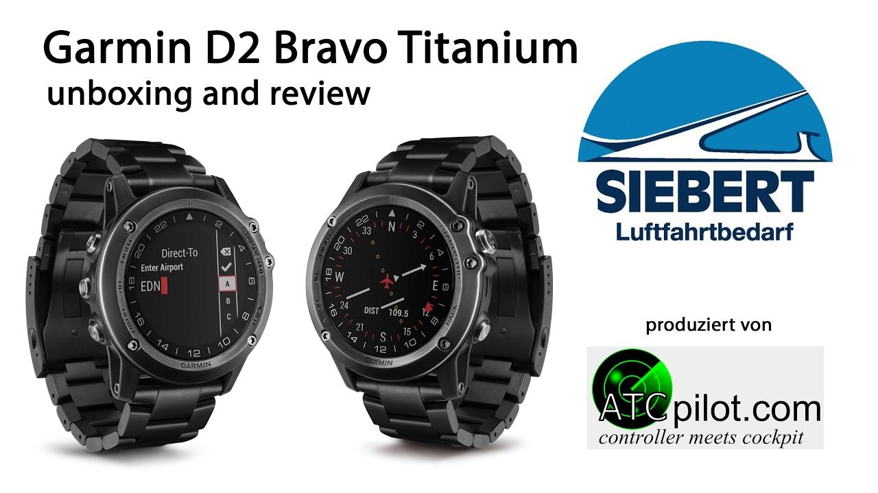 garmin d2 bravo titanium review