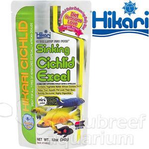 hikari sinking cichlid excel review