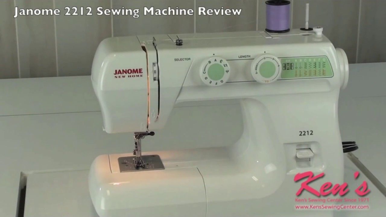 stirling by janome sewing machine review
