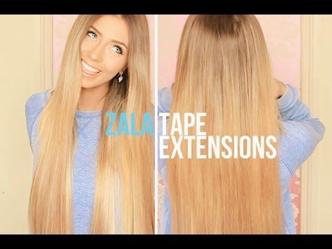 zala tape hair extensions review